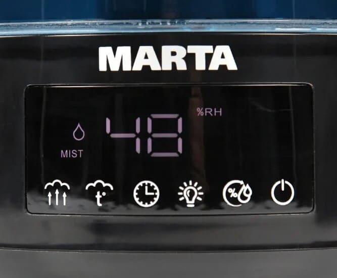 Панель управления увлажнителя воздуха для дома