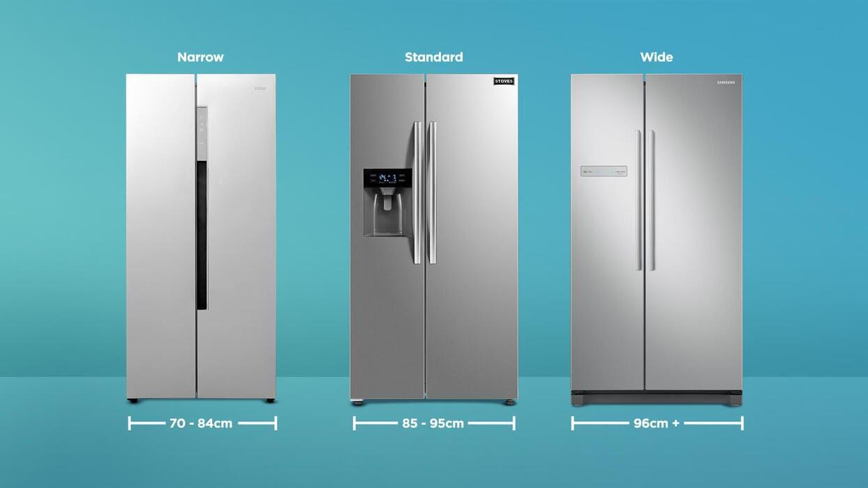 Размеры холодильника