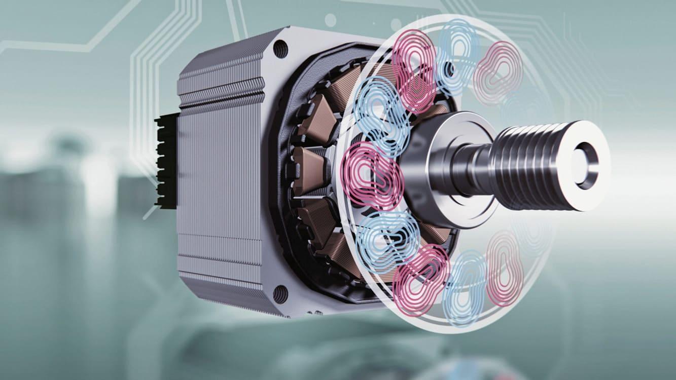 Стиральная машина с инверторным двигателем