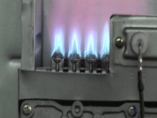 Камера сгорания газового котла
