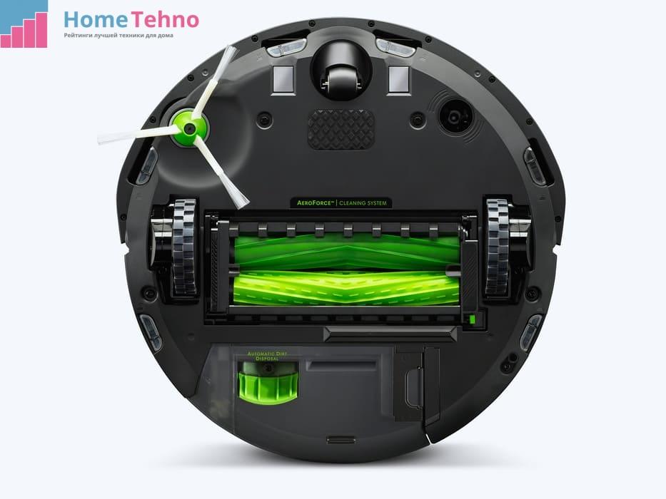 Конструкция робота-пылесоса