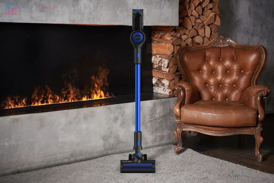 лучший вертикальный пылесос Wollmer D707 Sapphire