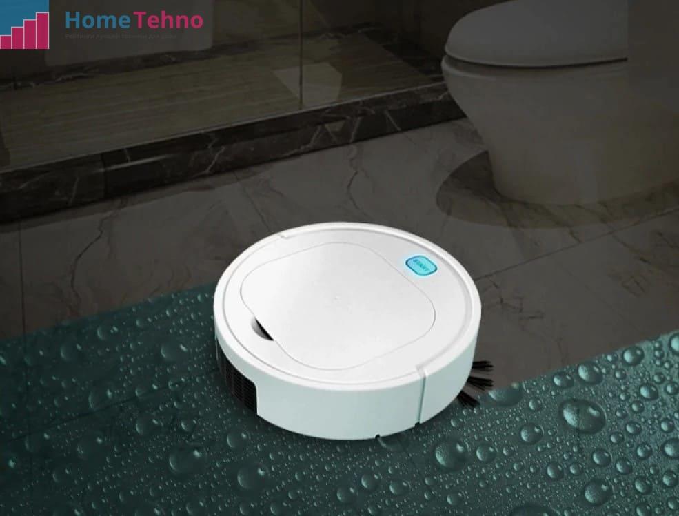 Робот-пылесос с влажной работой