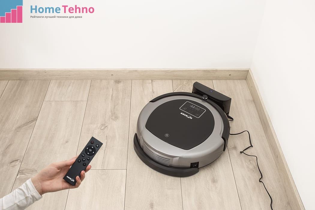 Управление роботом-пылесосом