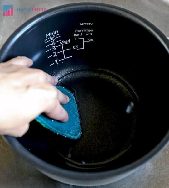 как почистить чашу мультиварки
