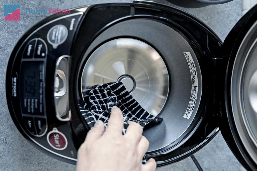 как почистить дно и нагревательный диск мультиварки