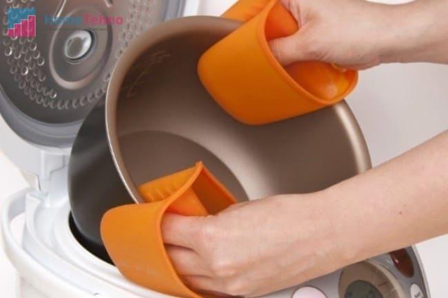 как почистить керамическую чашу