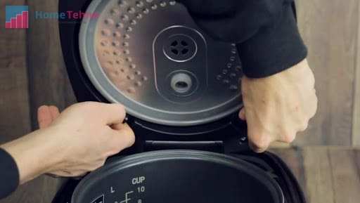 как почистить крышку мультиварки