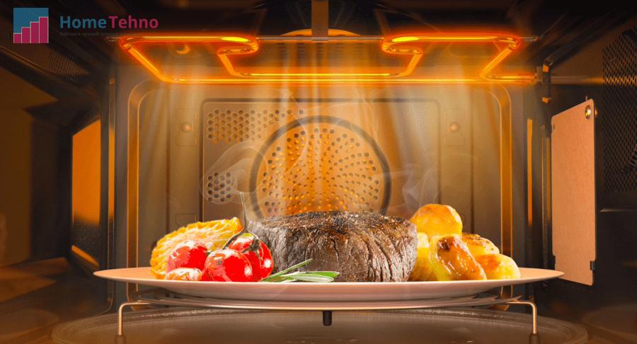 микроволновая печь с конвекцией