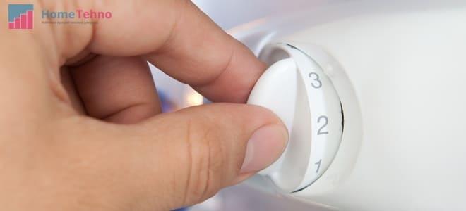 переключатель температуры холодильника