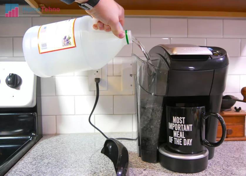 как почистить кофемашину с режимом самоочистки
