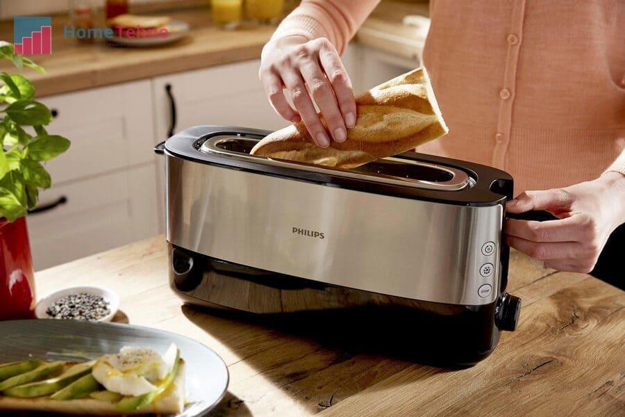 как пользоваться тостером филипс