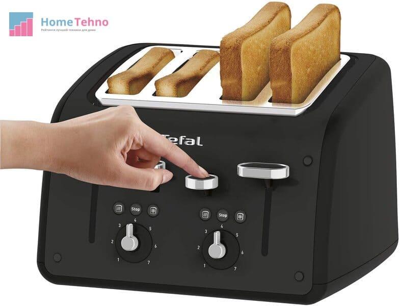 как пользоваться тостером тефаль