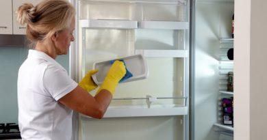 как помыть холодильник