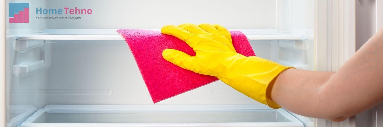 как помыть полки в холодильнике