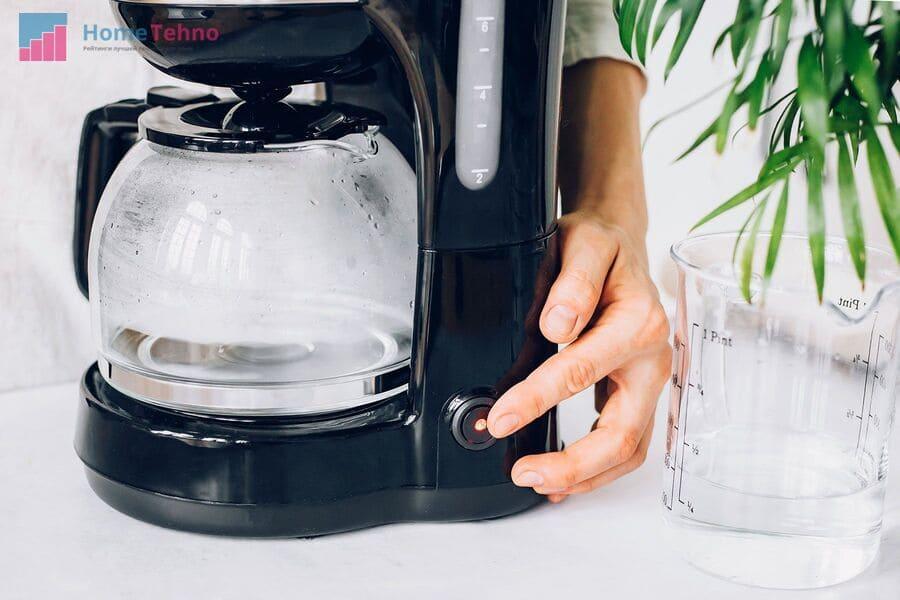 как правильно чистить кофемашину