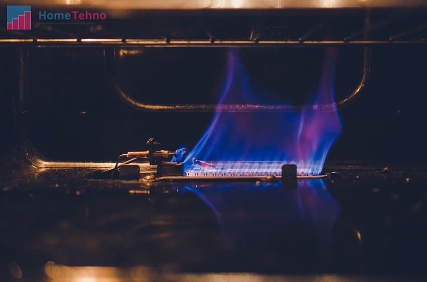 как разжечь газовую духовку