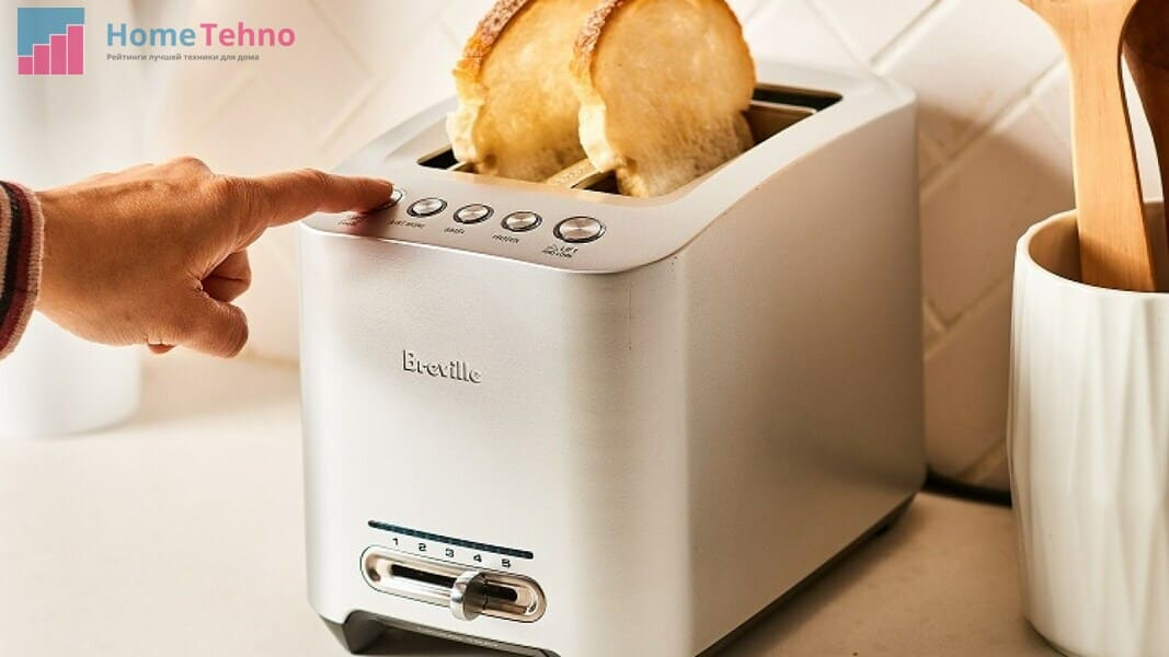 панель управления тостером