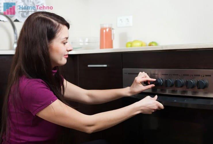 правила использования газовой духовки