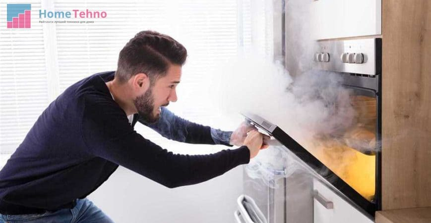 техника безопасности при использовании газовой духовки