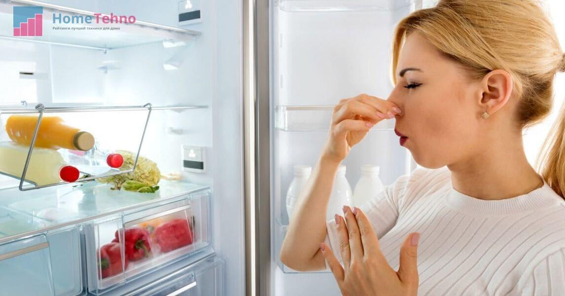 убираем запах в холодильнике