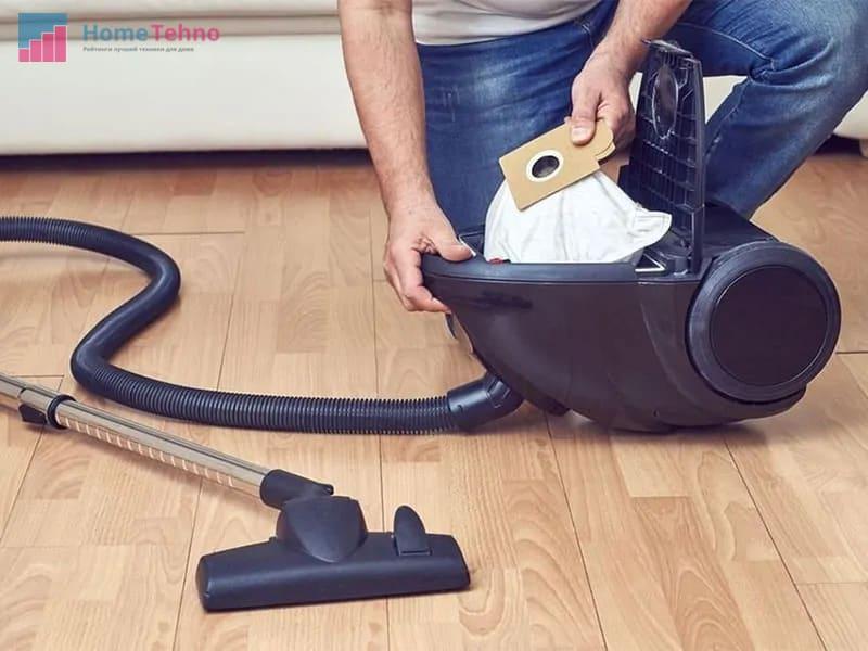 как почистить мешок пылесоса