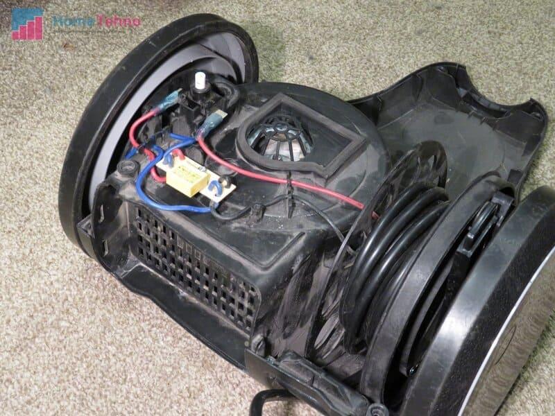 как почистить мотор пылесоса