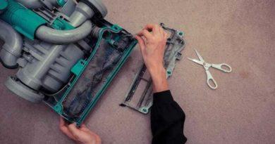 как почистить пылесос