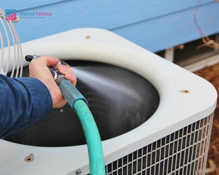 как почистить радиатор кондиционера