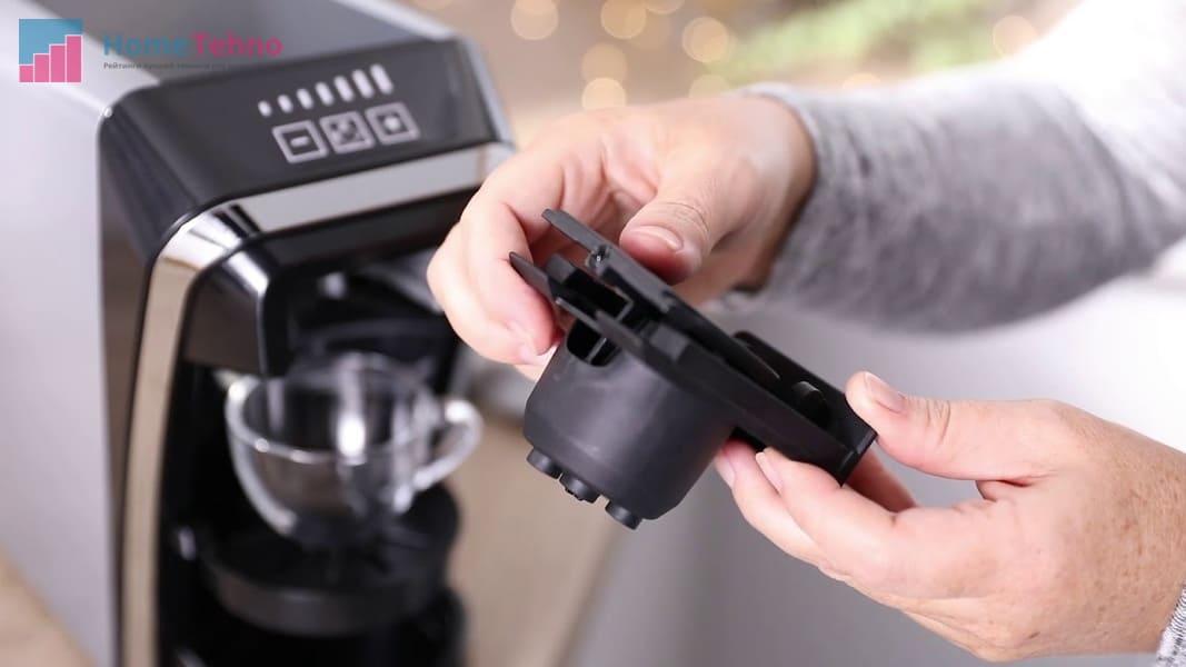 как пользоваться кофемашиной с капсулой