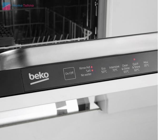 как пользоваться посудомоечной машиной beko