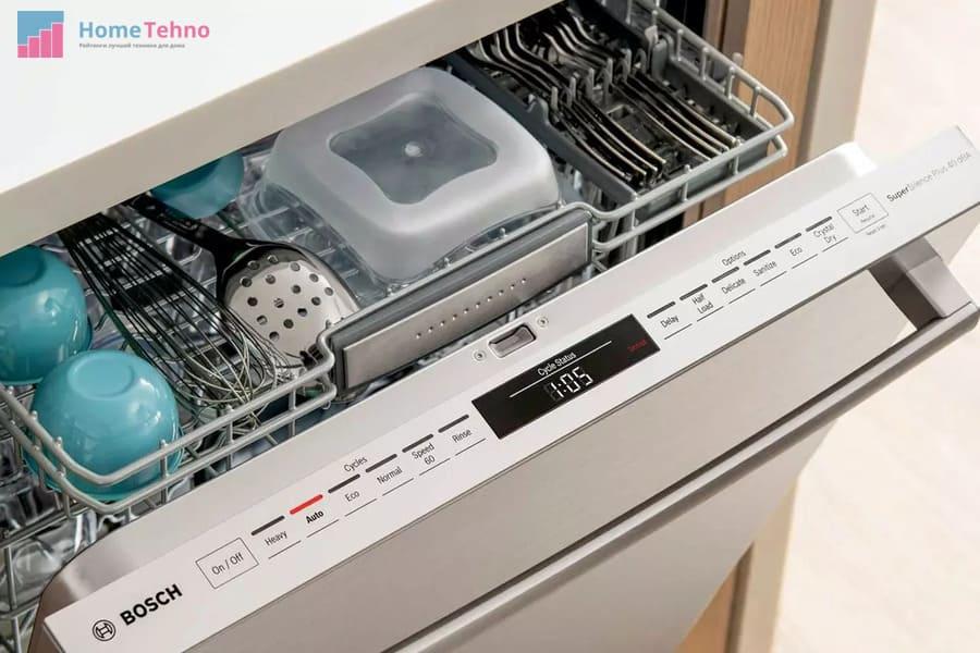 как пользоваться посудомоечной машиной бош