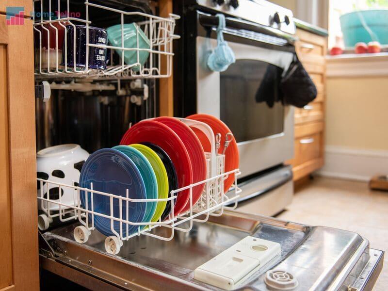 первый запуск посудомоечной машины