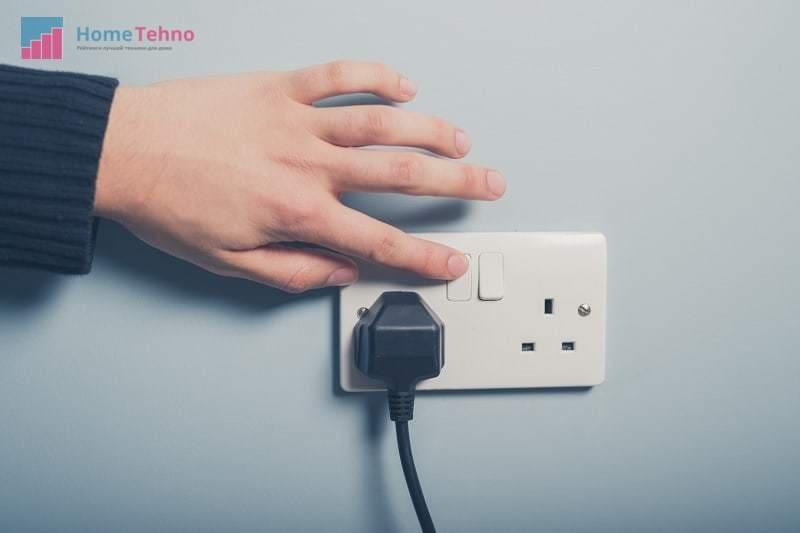 подключение вытяжки к электросети