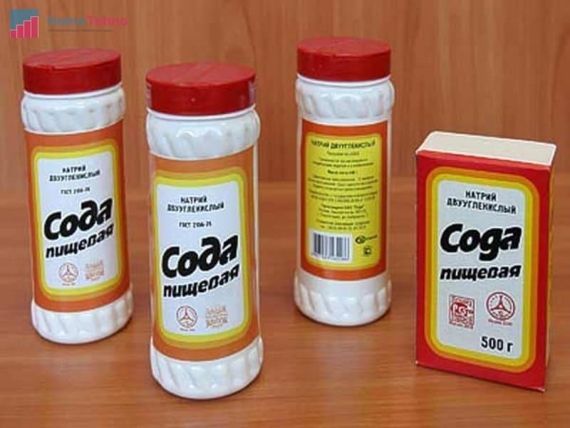 сода для чистки утюга