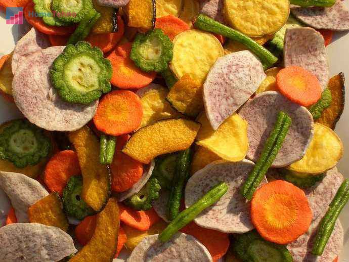 температурный режим для сушки овощей и фруктов