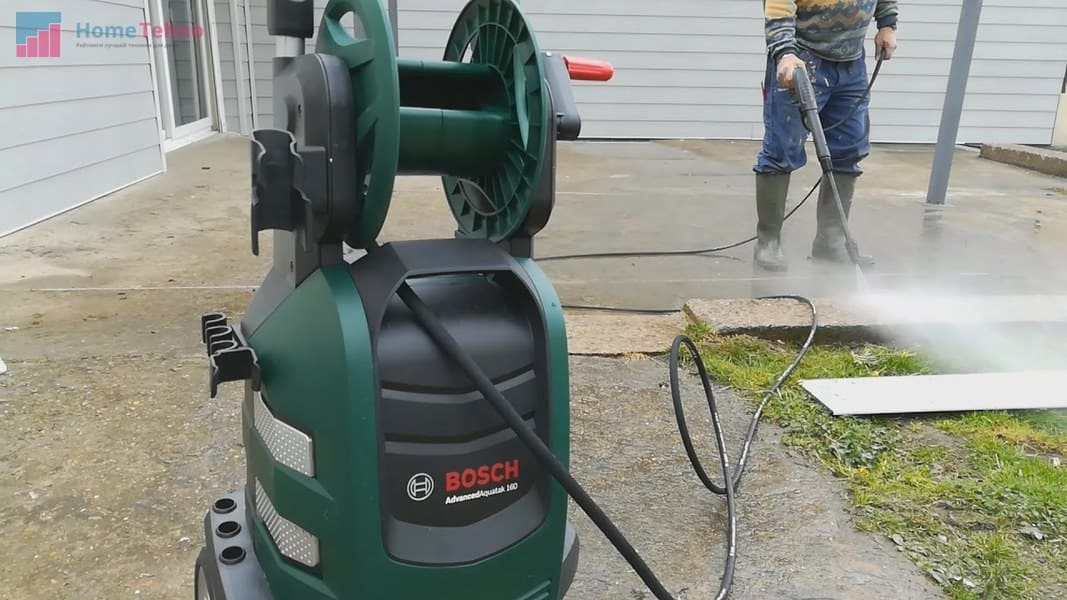 лучшая мойка высокого давления Bosch AdvancedAquatak 150