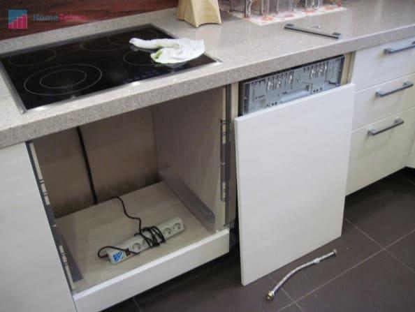 подготовка места для установки духового шкафа
