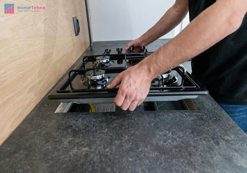пошаговое подключение газовой плиты