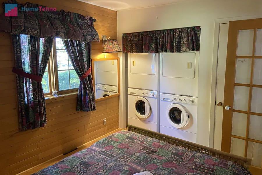 установка стиральной машины в загородном доме