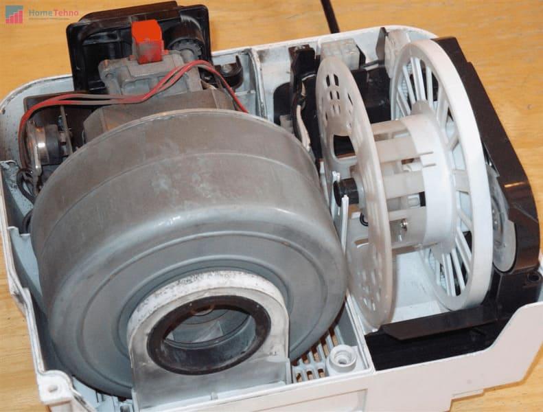 как починить двигатель пылесоса