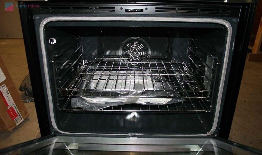 как почистить духовку в газовой плите