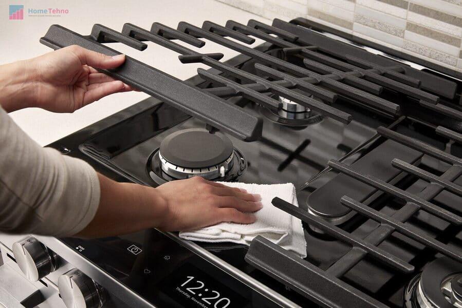 как правильно чистить газовую плиту
