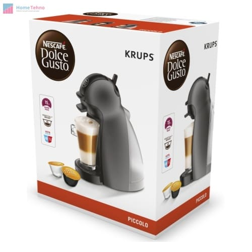 лучшая кофемашина с капучинатором Krups Nescafe Dolce Gusto Piccolo KP100B10