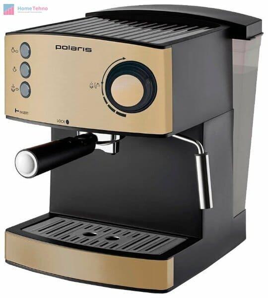 лучшая кофемашина с капучинатором Polaris PCM 4008AL