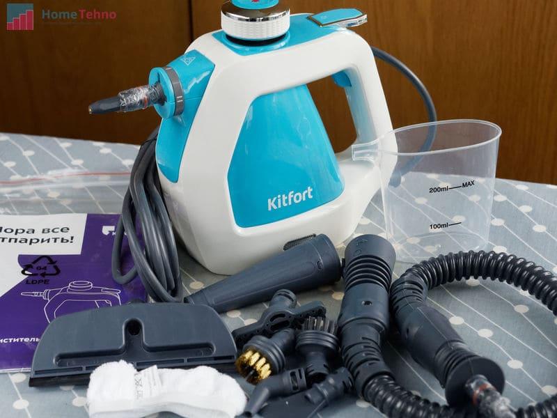 лучший пароочиститель Kitfort KT-918