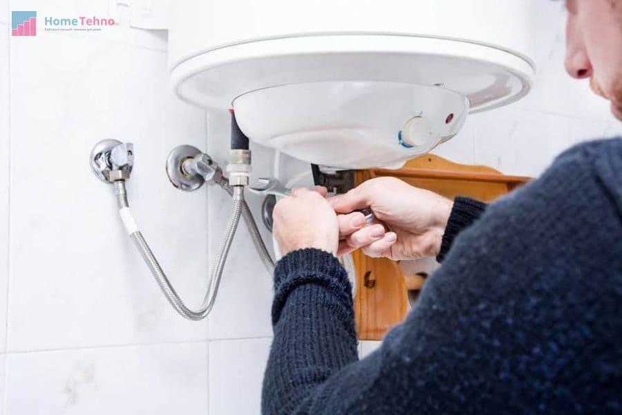 подготовка к установке водонагревателя