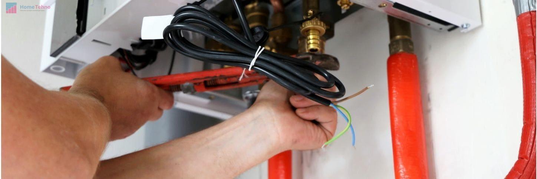 подключение газового котла к электричеству