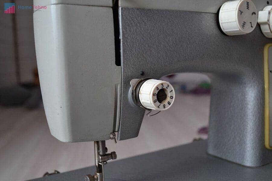 как настроить швейную машину чайка