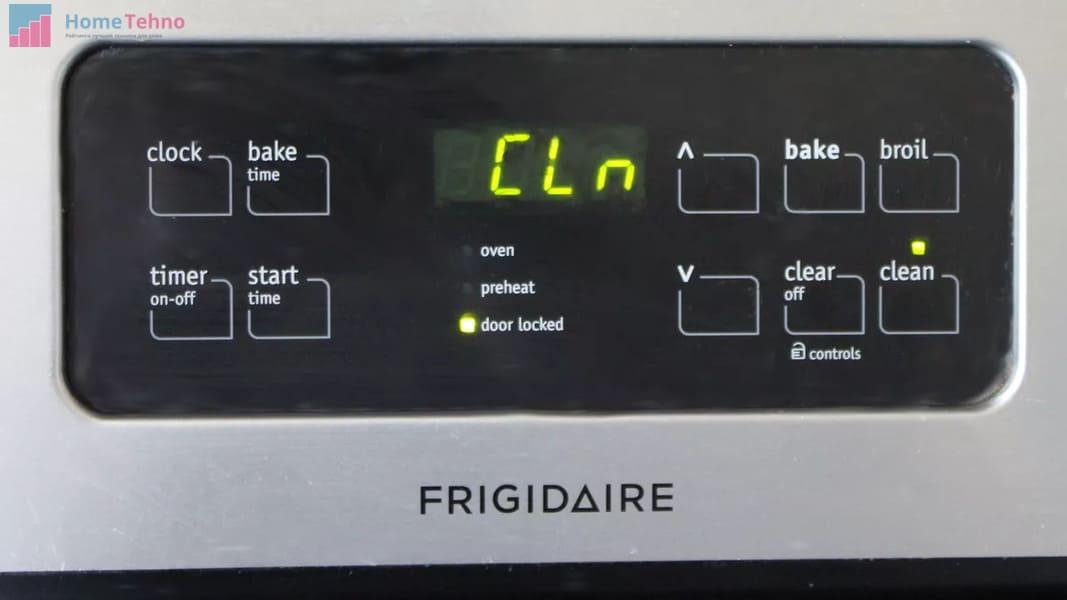 как настроить время в духовке